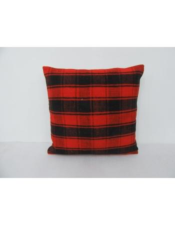 Black & Orange Vintage Kilim Pillow