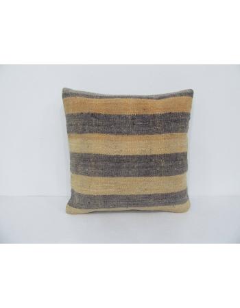 Vintage Handmade Striped Kilim Pillow