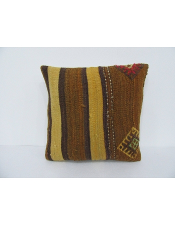 Vintage Decorative Striped Kilim Pillow