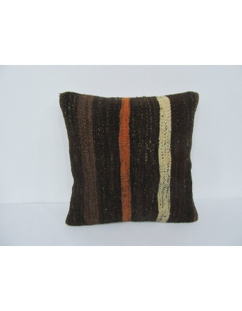 Striped Vintage Kilim Pillow Cover