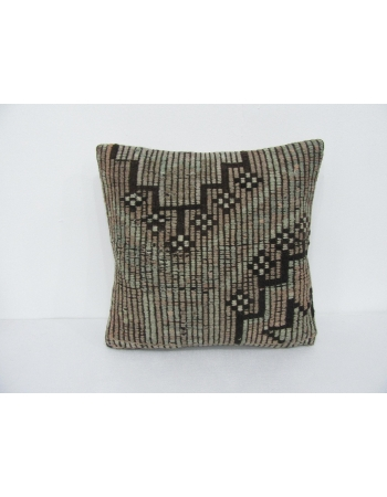 Embroidered Decorative Kilim Pillow