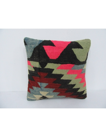 Colorful Decorative Vintage Kilim Pillow