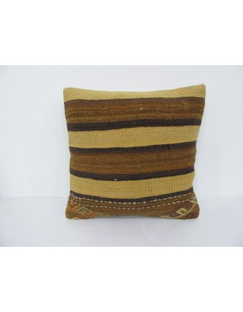 Yellow & Brown Kilim Cushion Cover
