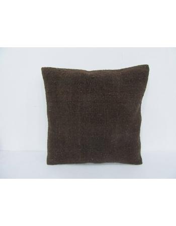Brown Vintage Modern Kilim Pillow