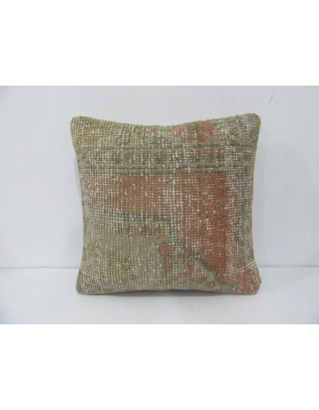 Vintage Distressed Decorative Pillow Cover