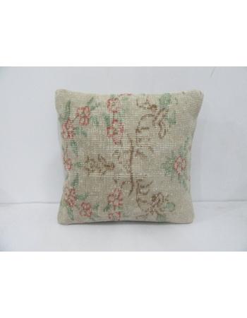Floral Vintage Decorative Pillow Cover