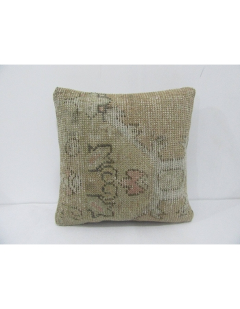 Faded Vintage Distressed Pillow Cover