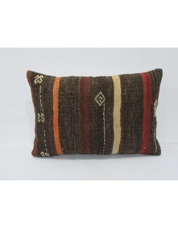 Striped Vintage Decorative Kilim Pillow
