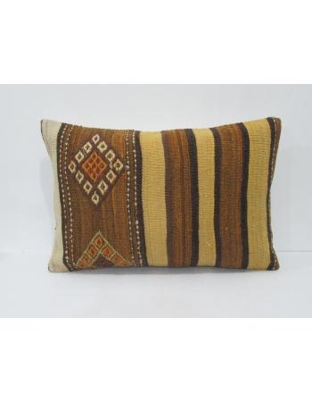 Vintage Decorative Wool Kilim Pillow