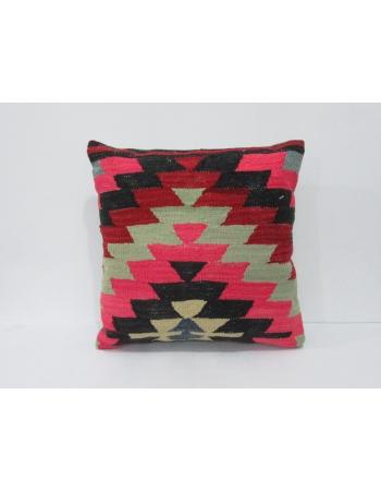 Vintage Colorful Kilim Pillow Cover