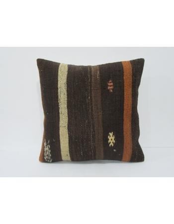 Vintage Goat Hair Kilim Pillow Cover