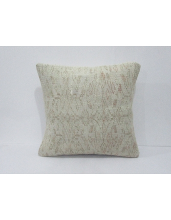 Vintage Ivory Decorative Turkish Pillow Cover