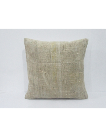 Vintage Faded Turkish Ivory Pillow