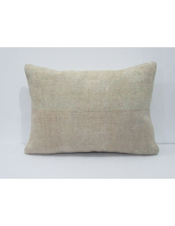 Vintage Ivory Faded Pillow Cover