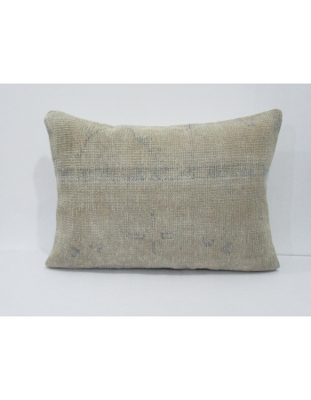 Beige & Blue Decorative Pillow Cover