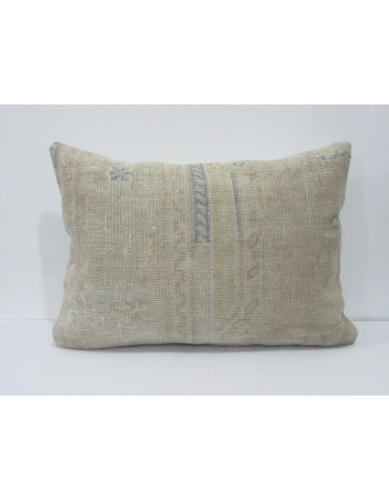 Blue & Beige Decorative Pillow Cover