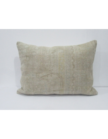 Vintage Faded Ivory Pillow