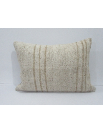 Hemp Striped Vintage Kilim Pillow Cover