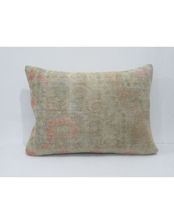 Distressed Vintage Large Pillow Cover