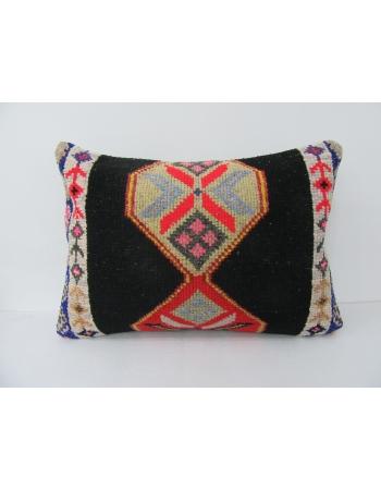 Black & Orange Unique Decorative Pillow