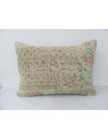 Floral Decorative Vintage Pillow Cover