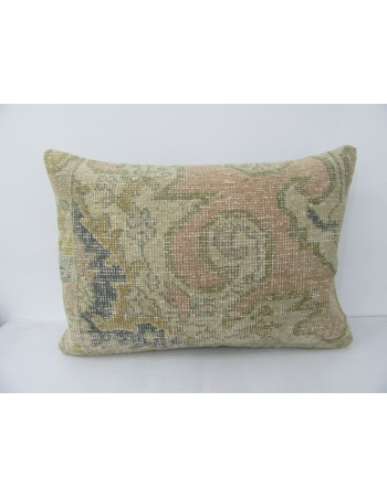 Distressed Vintage Decorative Pillow Cover