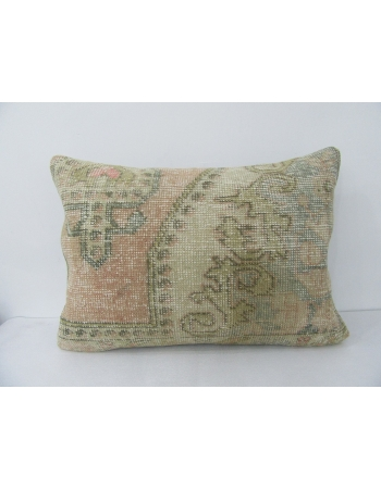 Faded Vintage Decorative Pillow Cover
