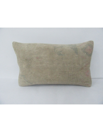 Faded Vintage Turkish Decorative Pillow