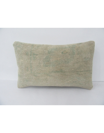 Vintage Faded Turkish Wool Pillow