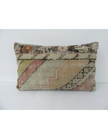 Vintage Worn Decorative Pillow Cover