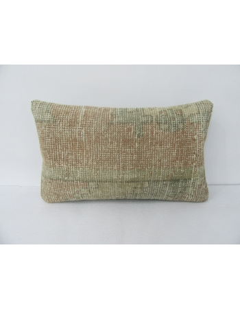 Faded Vintage Worn Pillow Cover
