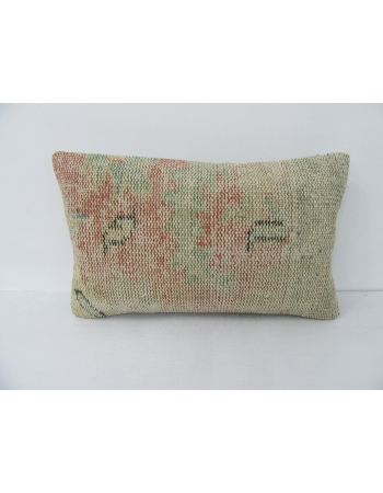 Worn Vintage Faded Pillow Cover