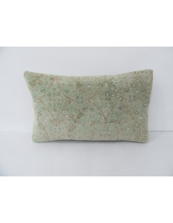 Green & Brown Vintage Pillow Cover
