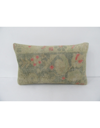 Green & Pink Decorative Pillow Cover