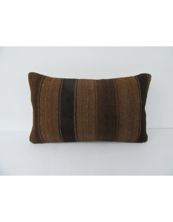 Wool Brown Natural Pillow Cover