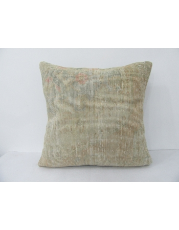 Worn Large Vintage Pillow Cover