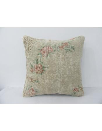 Vintage Floral Decorative Pillow Cover
