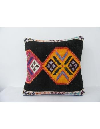 Vintae Black & Yellow Decorative Pillow