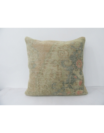 Vintage Faded Worn Pillow Cover