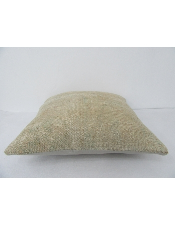 Faded Vintage Ivory Pillow Cover