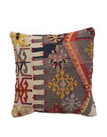 Antique Turkish Kilim Pillow Cover