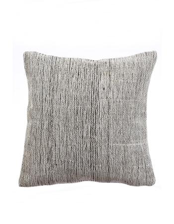 Vintage Gray Modern Kilim Pillow Cover