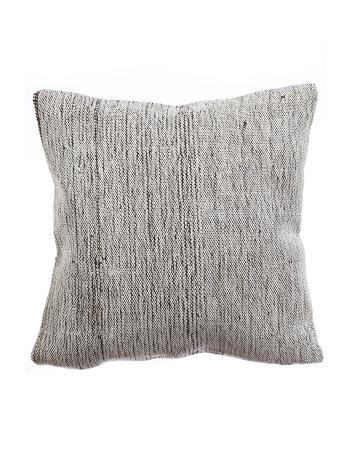 Vintage Gray Kilim Pillow Cover