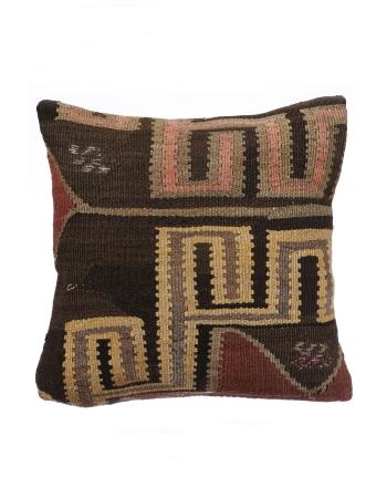 Vintage Turkish Decorative Kilim Pillow Cover