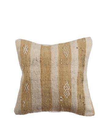 Striped Vintage Kilim Pillow Cover