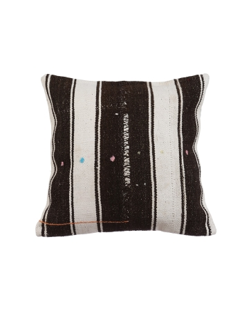 Vintage Striped Kilim Pillow Cover
