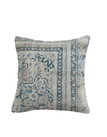 Distressed Vintage Pillow Cover