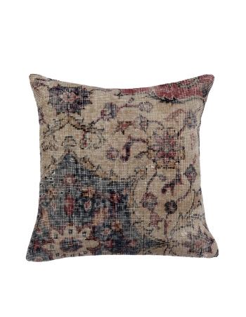 Distressed Vintage Handmade Pillow Cover
