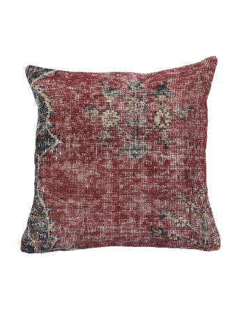 Distressed Vintage Turkish Pillow Cover