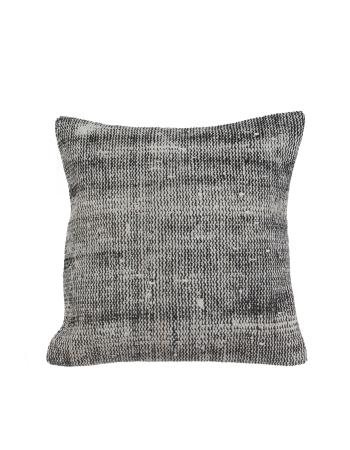 Gray Vintage Decorative Pillow Cover